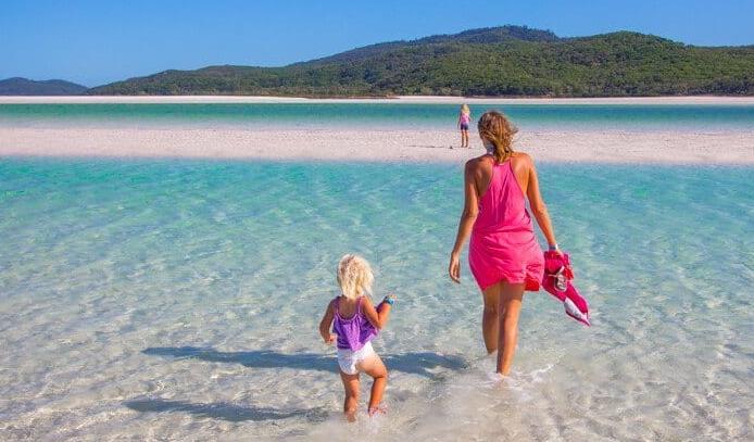 Holiday destination in Australia